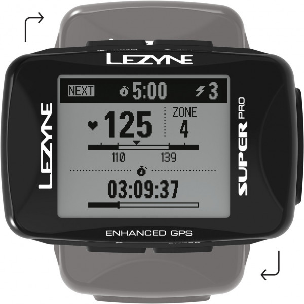 Lezyne Super Pro GPS, Ble, Ant+ Unit, Usb Charger Cable Included. Includes Mo for Handl