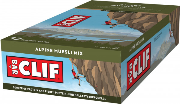 Clif Bar Energieriegel Alpine Müsli Mix