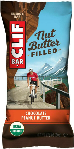 Clif Bar Nut Butter Filled Riegel Schokolade-Erdnuss 50 g - 1 Stk.